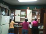 Removing items in the cupboards